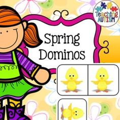 This is a game of dominos with all images related to Spring. Comes as 10 pages (60 domino pieces)I recommend laminating each of the individual pieces so that it will be stronger thus longer lasting.This activity is a great way to promote group games, prob