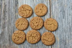 Love Ginger Snaps!! How To Make The Perfect Ginger Snap Cookies