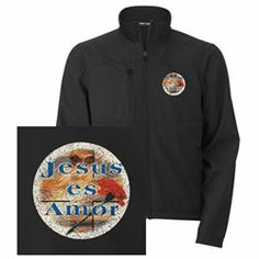 #Artsmith Inc             #ApparelTops              #Men's #Embroidered #Jacket #Jesus #Amor #Jesus #Love                         Men's Embroidered Jacket Jesus Es Amor Jesus Is Love                                                    http://www.snaproduct.com/product.aspx?PID=7528467