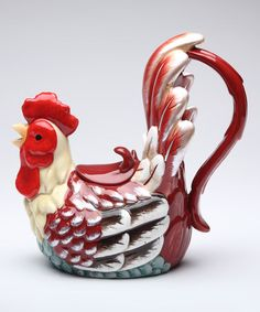 Another great find on #zulily! Rooster Teapot #zulilyfinds