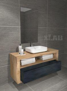 Bathroom Layout, Bathroom Interior, Modern Bathroom, Modern Entrance Door, Accent Wall Bedroom, Modern Architecture House, Vanity Units, Woodworking Furniture, Apartment Design