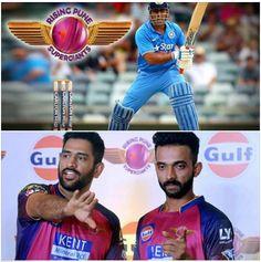 Congratulations #Pune, #RPS, Captain #MSD! Great batting, #Rahane!