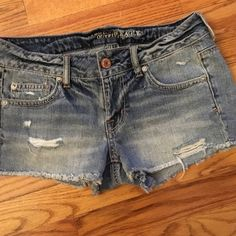 AEO Jean shorts size 4 AEO Jean shorts size 4. American Eagle Outfitters Shorts Jean Shorts