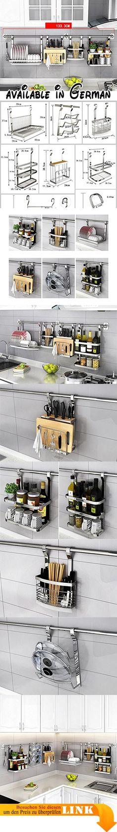 B078TSB263  Großer Raum feste Lager Küche Regal Mikrowelle Ofen - gewürzregale für küchenschränke