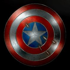 An exercise in Substance Designer to recreate Captain America's shield. Modelling in Maya and rendered in Marmoset Toolbag Captain America Shield, Game Assets, Character Art, Superhero, Artwork, Fictional Characters, Work Of Art, Auguste Rodin Artwork, Artworks