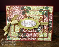 Betsy's Blossoms Triple-Layer Card