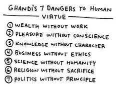 Gandhi's Seven Habits For Highly Defective People | MoveOn.Org