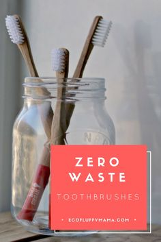 Zero Waste Bamboo Toothbrush For Eco Friendly People