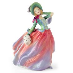 Autumn Breezes HN1911 - Royal Doulton Figurine