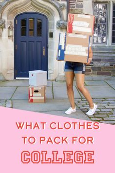 What clothes to pack, outfit ideas, and an app called Stylebook to keep track of everything. This is the perfect list of what clothes to pack for college, including items that will have you covered for class, the gym, dates, and spring break.