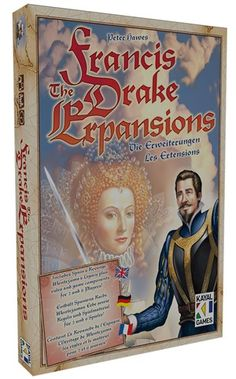 Francis Drake - The Expansions: Now for up to 6 players.