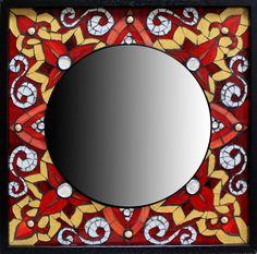Mosaic Artists Gallery Photos of Mosaic Mirrors - Showcase Mosaics