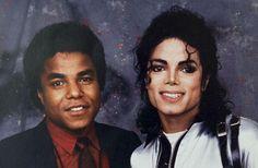 Tito Jackson with Michael Jackson.