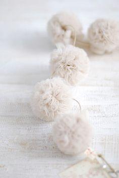 Pompom garland