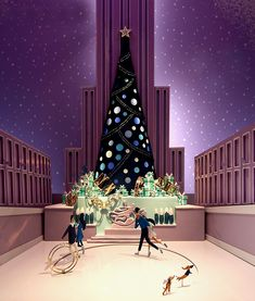 Tiffany & Co. Christmas Windows 2014 New York City