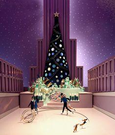 Tiffany & Co. Christmas Windows 2014 New York City