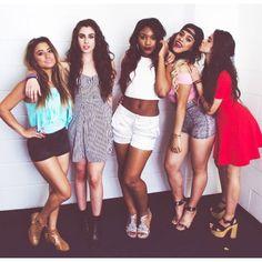 Fifth Harmony: Ally Brooke, Lauren Jauregui, Normani Kordei, Dinah Jane Hansen, Camila Cabello