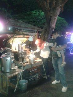 cafe coffee kopi /vintage car mobile cafe