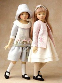 """Helen and Ruthie"" dolls were released in a limited edition of 75 in 2006.  Maggie Iacono"