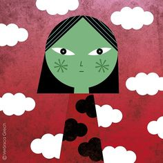 Did you know 300 million children live in areas where outdoor air pollution is toxic? That's almost 1 in 7 of the 's children. Air pollution may be invisible but its effects can last forever, especially for children whose lungs, brains and immune systems are still developing. We love this powerful illustration by @veronicagrech, an #illustrator and #artist based  in Spain. It is part of our #illustrators4children series, where we asked artists from around the world to illustrate…