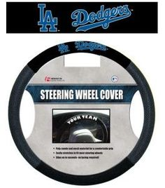 Los Angeles Dodgers Mesh Steering Wheel Cover
