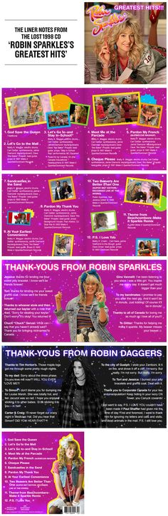 Vulture Uncovers the Lost Robin Sparkles CD, Eh!