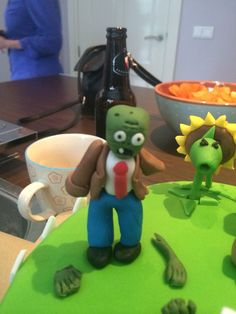 #Plantsvszombies #birthdaycake #homemade