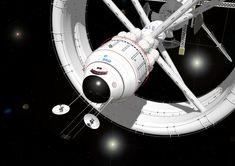 Bow View Interstellar Vehicle by russcolwell.deviantart.com on @deviantART