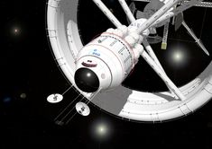 Bow View Interstellar Vehicle by russcolwell.deviantart.com on @deviantART