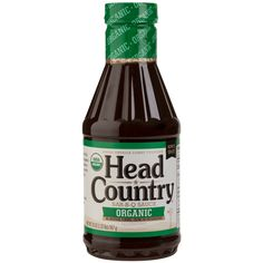 Head Country Bar-B-Q Sauce now comes in Organic! Premium ingredients yield exceptional flavor with Head Country's Certified Organic barbecue sauce.