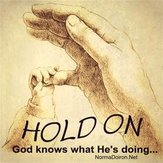 Are you feeling drained? Anxious? Things are not happening fast enough? Hold on tight...