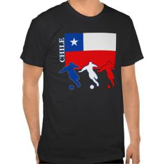 Shop Soccer Chile T-Shirt created by nitsupak. Soccer Gifts, Tshirt Colors, Chile, Fitness Models, Football, Unisex, Tees, Amazing, Casual