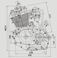 Jeep engine cutaway google search race car blueprints cutaways motorcycle technical design malvernweather Image collections