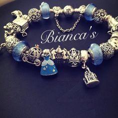 #ShareIG My pandora cinderella bracelet is completed :)