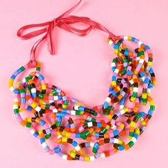 Mark Montano: How to Make a Beaded Zip Tie Necklace