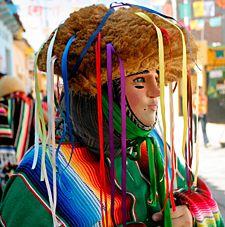 Bella tradición de Chiapa de Corzo, Chiapas: Los Parachicos.