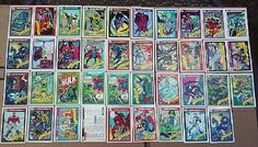 Marvel Universe Series 1 Trading Card Singles (39) Cards Impel 1990