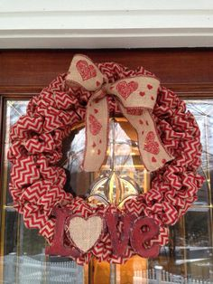 Valentine Wreath by GiaCella Designs