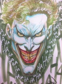 The Joker by Ethan Van Sciver *
