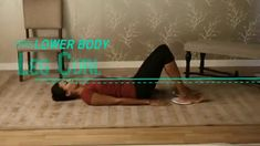 3-Minute Workout: Leg Curl