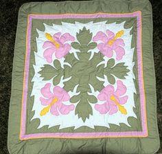 ulu hawaiian quilts | baby blanket hawaiian quilts hawaiian print picnic utility floor mat
