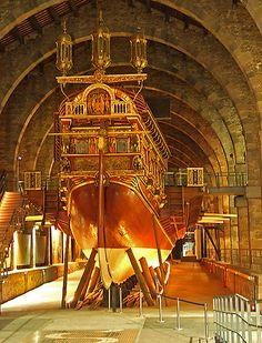 Galley replica, Barcelona Maritime Museum