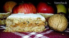 Jablkový koláč zo šľahačkového cesta (fotorecept)