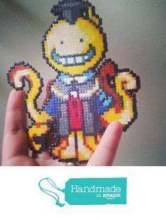 Sprite Koro Sensei : Assassination Classroom • Hama Beads • Pixel/art from LadyTry https://www.amazon.co.uk/dp/B01M0PKQYB/ref=hnd_sw_r_pi_awdo_0DgnybZM4KB16 #handmadeatamazon