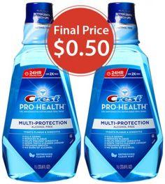 Crest Mouthwash, $0.50 at Walgreens, Starting 5/11—Print Now!