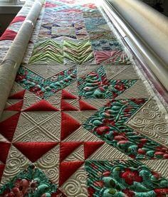Beautiful quilting                                                       …
