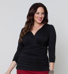 Plus Size Top Plus Size Fashion at www.curvaliciousclothes.com #plussize #bbw #curvy #fashion