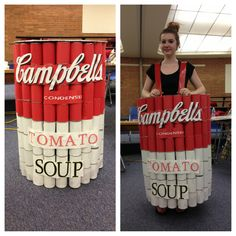 2013 Odyssey of the Mind division 3 ARTchitecture: the Musical Andy Warhol-inspired prop/costume