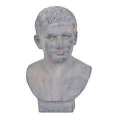 Cesar Sand Stone Bust Statue