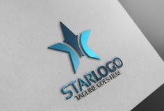 Star Logo by Josuf Media on @creativemarket